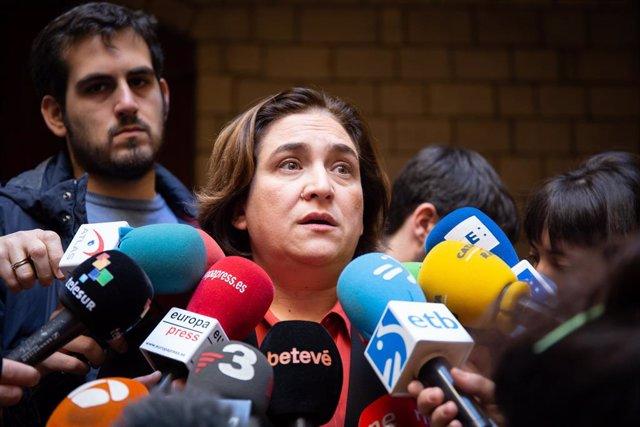 L'alcaldessa de Barcelona, Ada Colau, en una foto d'arxiu
