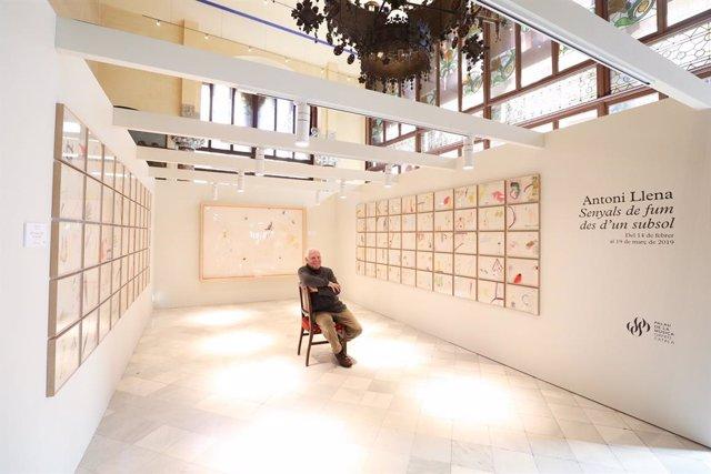 Antoni Llena exposa al Palau de la Música un centenar de dibuixos inèdits