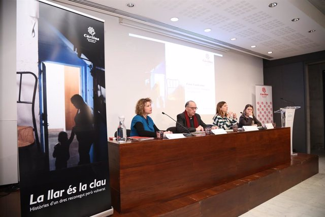 Jornada de Càritas Diocesana de Barcelona sobre l'emergència en l'habitatge