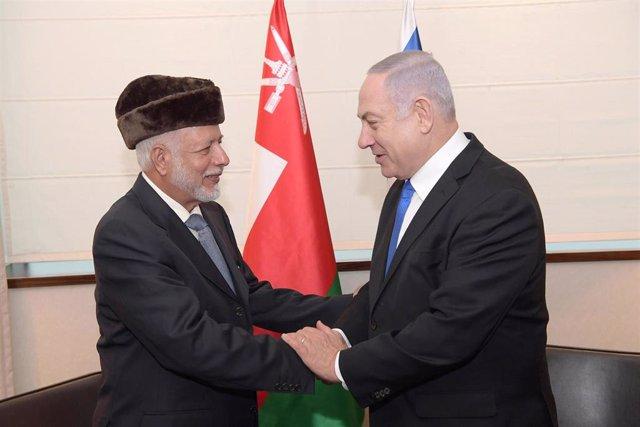 Resultado de imagen para netanyahu y lideres arabes