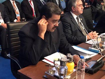 """Maduro tilda de """"festín del odio"""" la reunión entre Trump y Duque"""