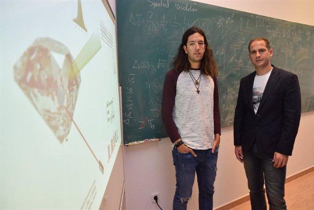 En la imagen, Javier Prior (derecha) junto a Santiago Casado