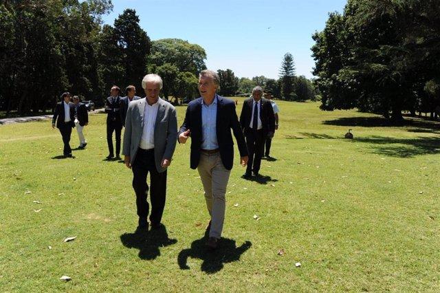 Macri y Vázquez