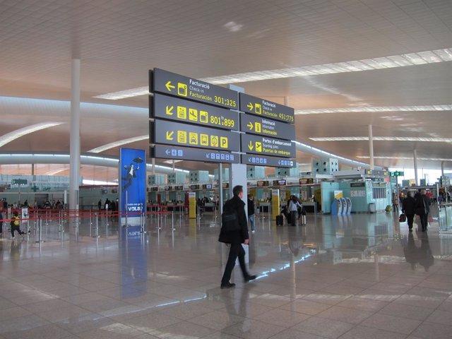 Hall del Prat Terminal 1