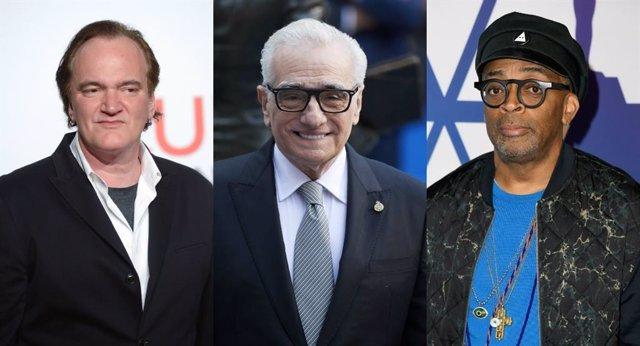 Quentin Tarantino, Martin Scorsese, Spike Lee