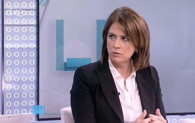 Entrevista a TVE a la ministra de Justícia, Dolores Delgado