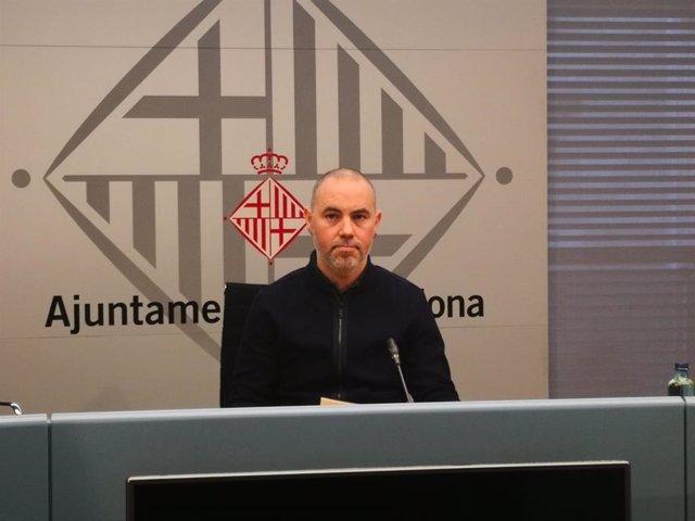 El regidor de Barcelona Eloi Badia/ARXIU