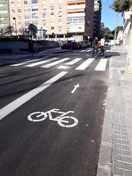 Ciudadanos critica el carril bici del barrio Niño Jesús