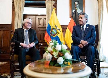 El presidente alemán llama a apoyar a Colombia y Ecuador ante la llegada de venezolanos