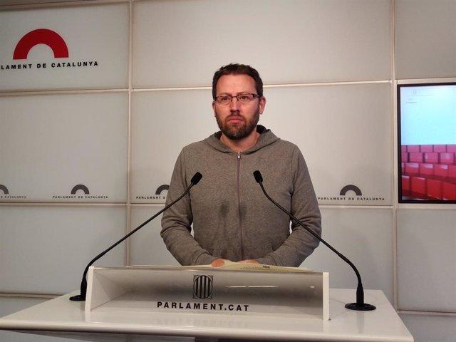 El diputat de la CUP Vidal Aragonés