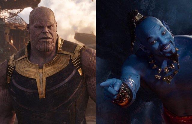 Thanos y el Genio de Aladdin