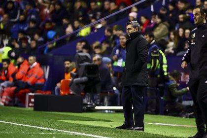 """Valverde: """"Messi está muy bien, ha entrenado perfectamente"""""""