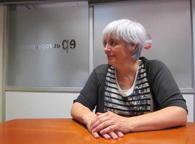 L'alcaldessa de Badalona, Dolors Sabater, en una imatge d'arxiu