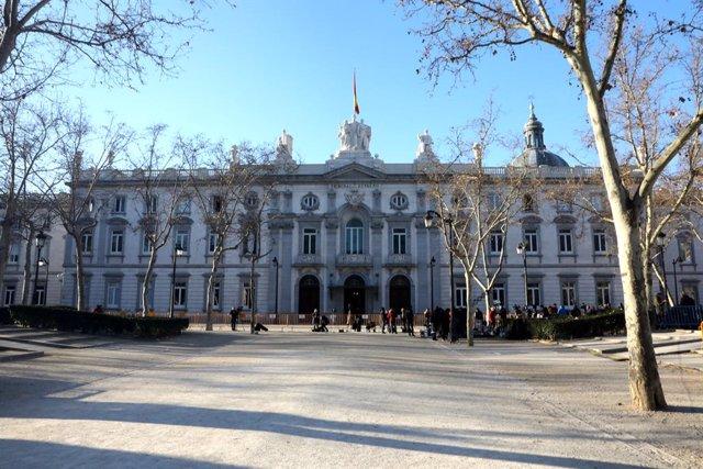 Imatge exterior del Tribunal Suprem