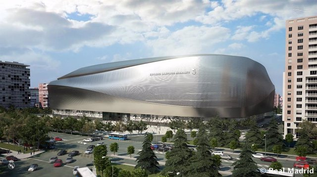 Imagen ampliación y remodelación Santiago Bernabéu