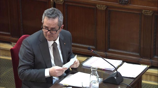 Interrogatori a Joaquim Forn en el judici pel procés