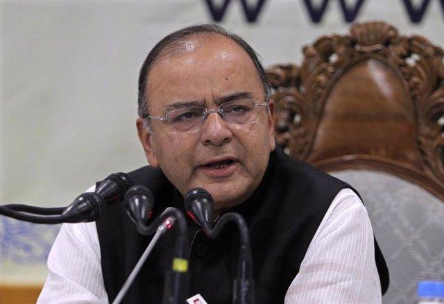 El Ministro De Finanzas Indio, Arun Jaitley