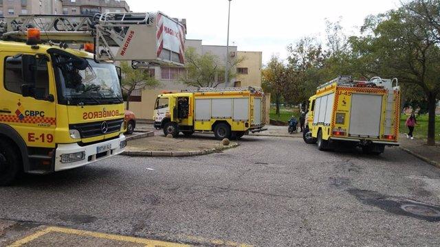 Vehículos de Bomberos del Consorcio de Cádiz en una imagen de archivo