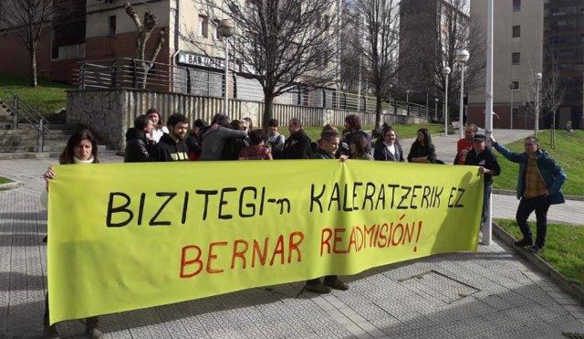 Protesta despido en Bizitegi.