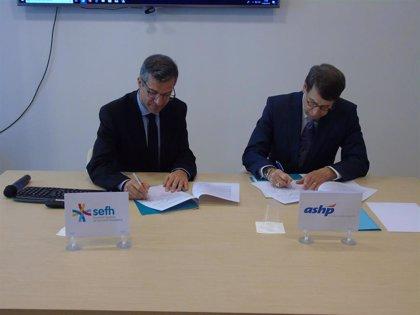 La SEFH y la ASHP firman el primer acuerdo de colaboración para impulsar la formación en Farmacia Hospitalaria