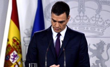 """Sánchez convoca eleccions generals el 28 d'abril perquè no pot """"governar sense pressupost"""" i culpa el PP i Cs (Oscar del Pozo - Europa Press)"""