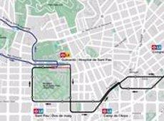 L'autobús 191 connectarà els barris del Guinardó, el Baix Guinardó i Can Baró de Barcelona (TRANSPORTS METROPOLITANS DE BARCELONA)