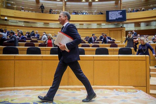 El Senado rinde un homenaje al fallecido expresidente del Principado de Asturias