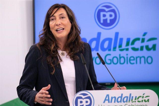 La secretaria general del PP-A, Loles López, en una imagen de archivo