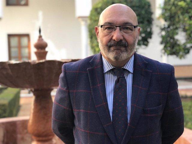 El portavoz parlamentario de Vox en Andalucía, Alejandro Hernández
