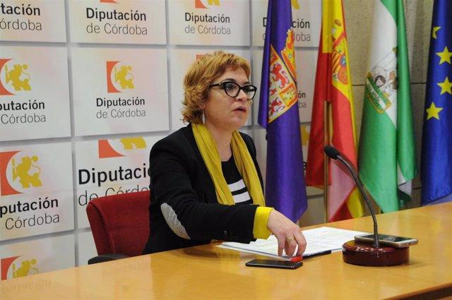 Marisa Ruz presenta la convocatoria en rueda de prensa