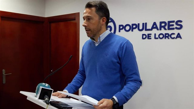 El presidente del Partido Popular de Lorca, y alcalde de la ciudad, Fulgencio Gi