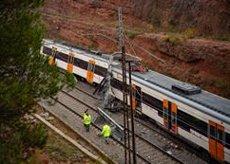 Investigats dos càrrecs d'Adif per l'accident ferroviari de Vacarisses (Barcelona) (DAVID ZORRAKINO - EUROPA PRESS - Archivo)