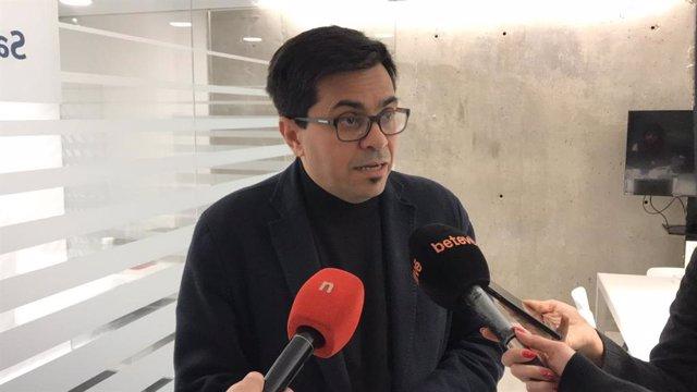 El primer tinent d'alcalde de Barcelona, Gerardo Pisarello