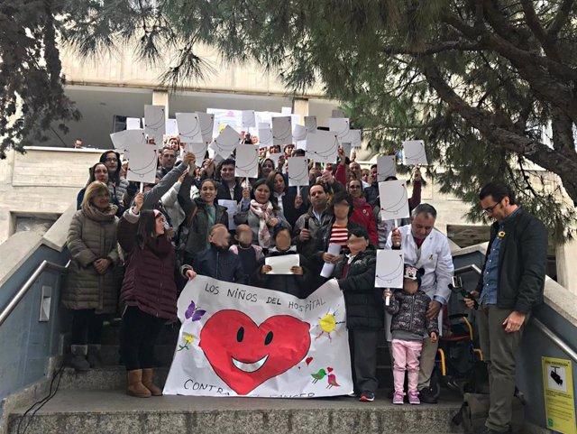 Celebración del Día Internacional de la Lucha contra el Cáncer Infantil en el Ma