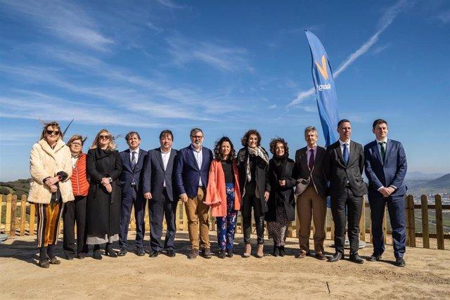 Inauguración parque eólico de Extremadura