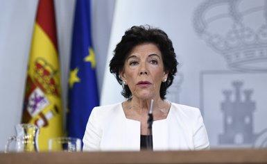 La llei Celaá recentralitza competències per assignar a La Moncloa la competència de determinar els continguts educatius (Oscar del Pozo - Europa Press)