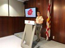 La regidora del PSC a Barcelona, Carmen Andrés