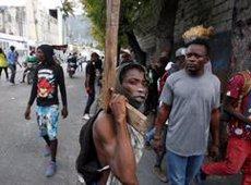 Una onada de manifestacions exigeix la renúncia del president d'Haití (REUTERS / JEANTY JUNIOR AUGUSTIN)