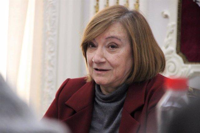 Angela Cerrillos presenta el Plan de Igualdad del Colegio de Abogados