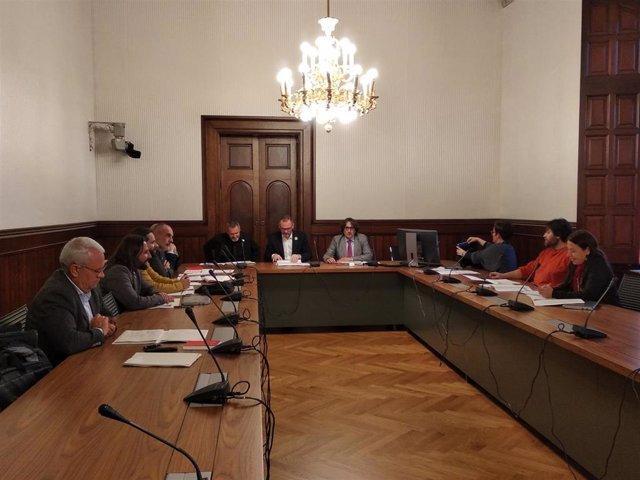 Ponencia sobre la reforma del reglamento del Parlament