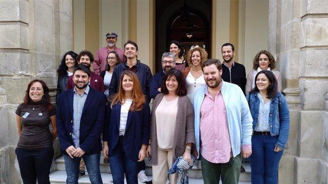 Los representantes de Adelante Sevilla