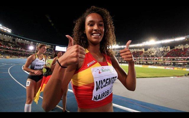 María Vicente, récord de España absoluto de pentatlón con 4.412 puntos