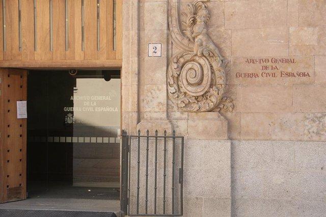 Arxiu de la Guerra Civil a Salamanca