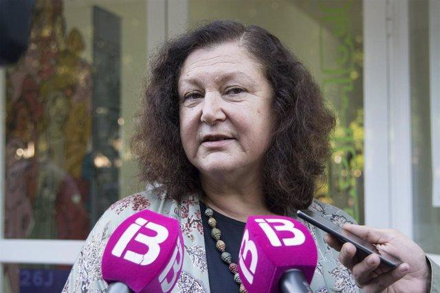 La secretària general de Podem a Balears, Mae de la Petxina