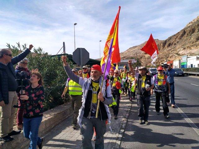 La III Marcha La Desbandá