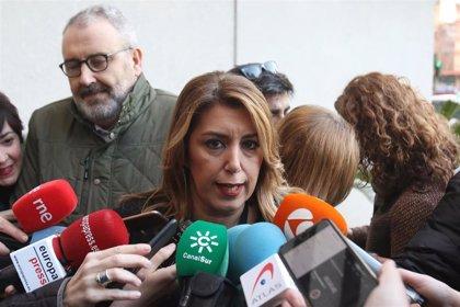 """Susana Díaz condena el asesinato del religioso y valora que """"dedique su tiempo a ayudar a los que más lo necesitan"""""""
