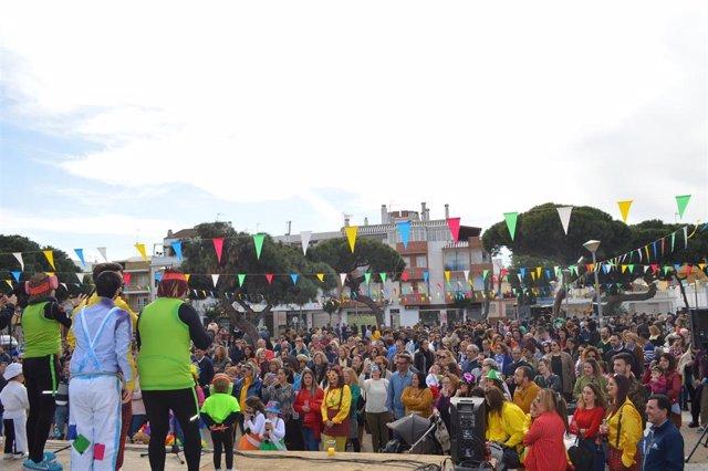 Berdigoná del Carnaval de la Luz de Punta Umbría