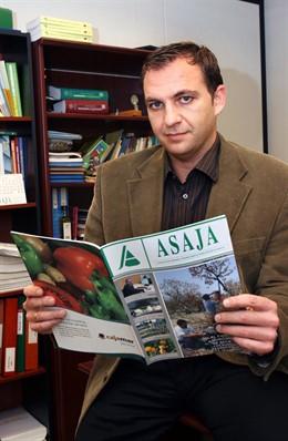 Alfonso Gálvez Caravaca. Foto de archivo