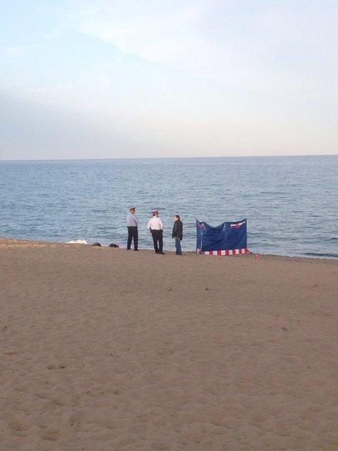 Cadàver trobat a la platja de la Barceloneta