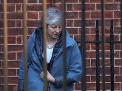 May té previst reunir-se amb Juncker aquesta setmana per aconseguir concessions sobre la frontera irlandesa (Steve Parsons/PA Wire/dpa)